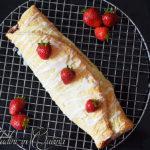Strudel di frutti rossi e formaggio