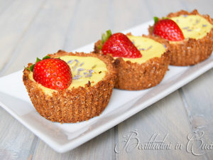cheesecake limone e fragole