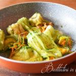 Fiori di zucca al parmigiano