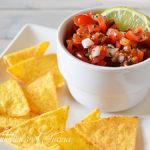 Pico de gallo: salsa di pomodoro fresco messicana