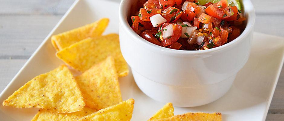 Pico de gallo salsa pomodori freschi messicana