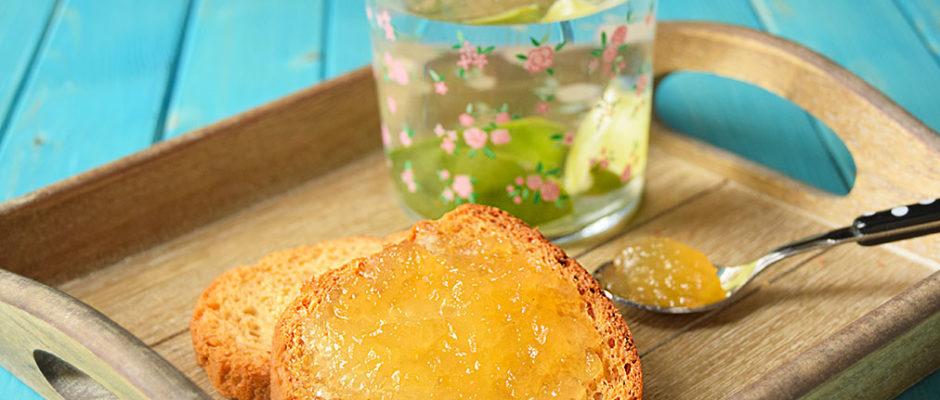 confettura di melone bianco e lime Bimby