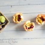 Sfogliatine uva fragola e fichi