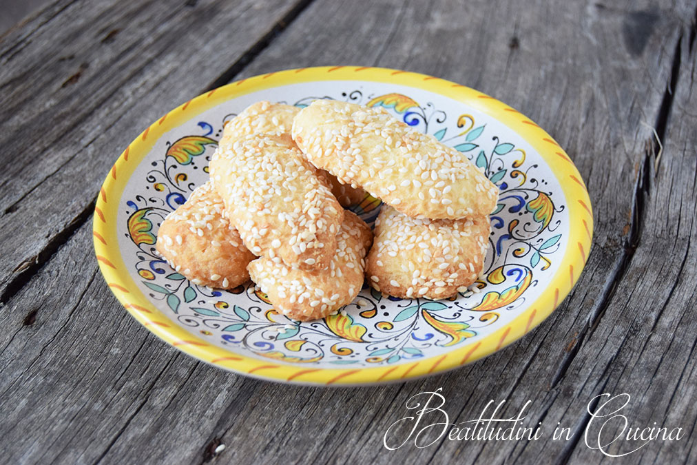 Biscotti Regina al sesamo