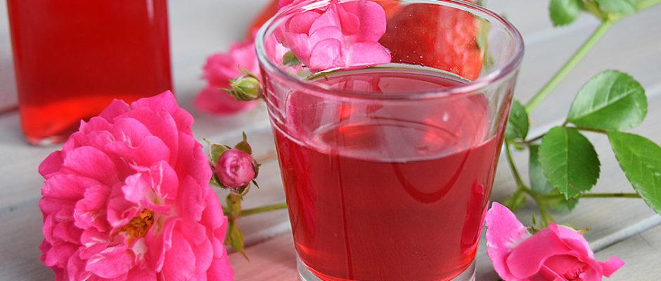 Liquore alle fragole no macerazione