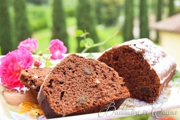 Plumcake al cioccolato extra fondente senza burro