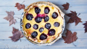 Crostata di susine e yogurt