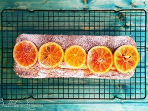 Plumcake soffice all'arancia rossa