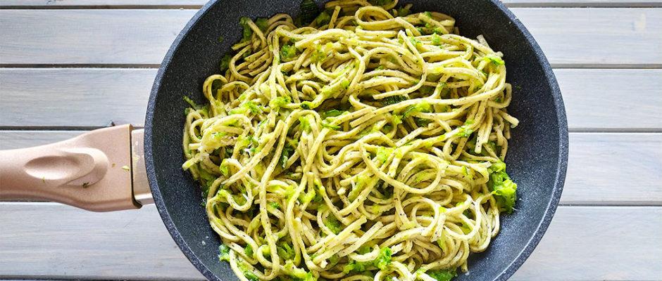 Tagliolini al tartufo e zucchine