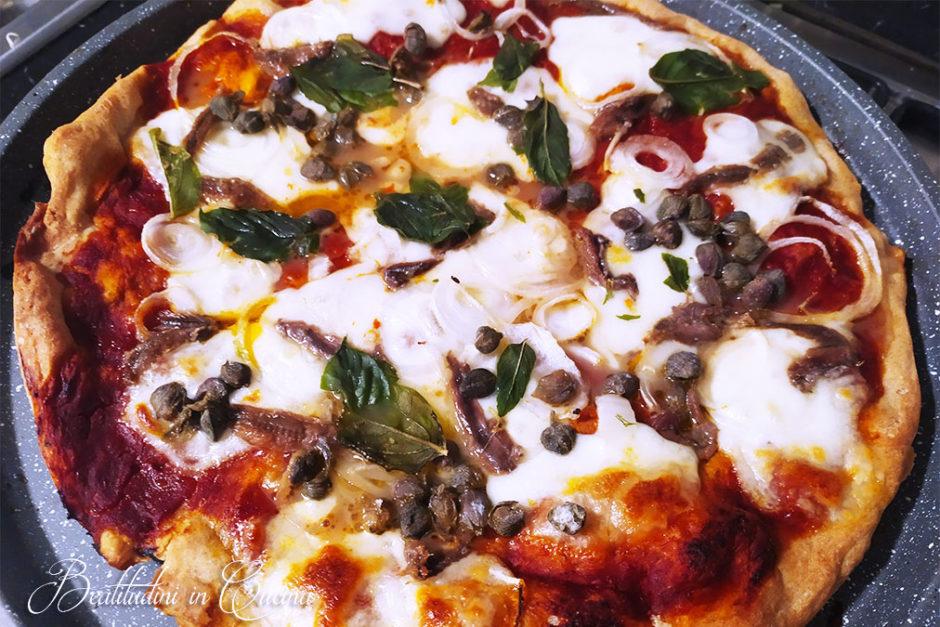 Pizza di grano Verna tradizionale