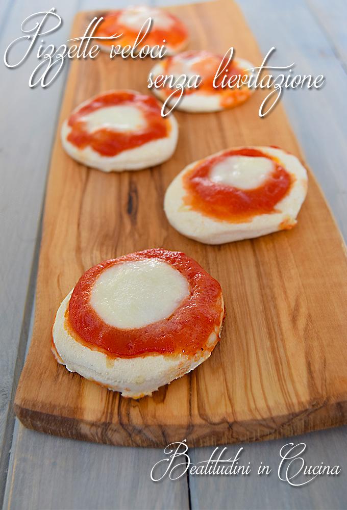 Pizzette veloci senza lievitazione1
