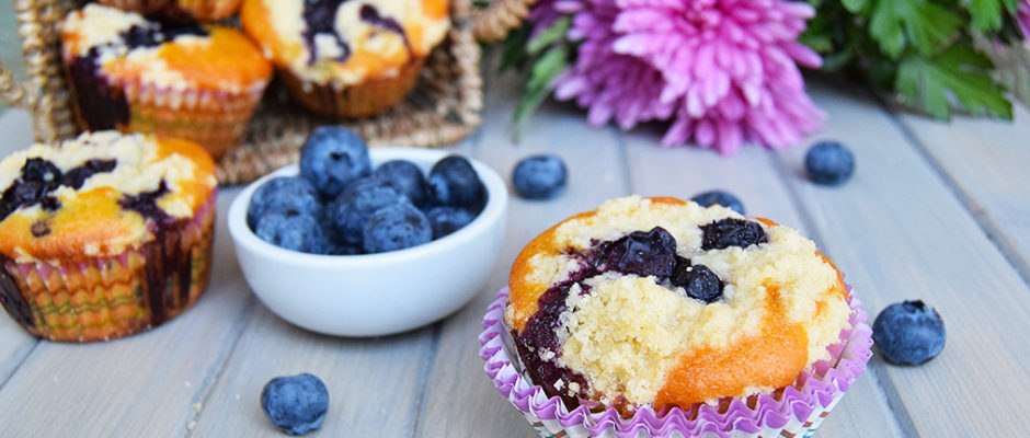 blueberry streusel muffin muffin ai mirtilli