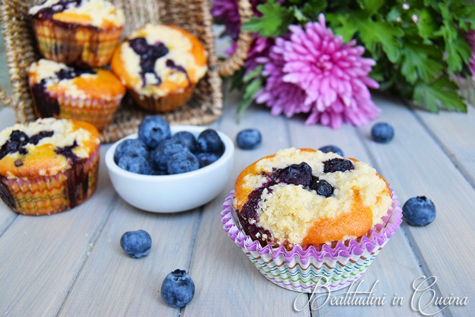 blueberry streusel muffin muffin ai mirtilli