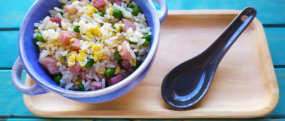 Riso alla cantonese, riso fritto alla cinese