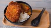 Katsukare, curry e tonkatsu