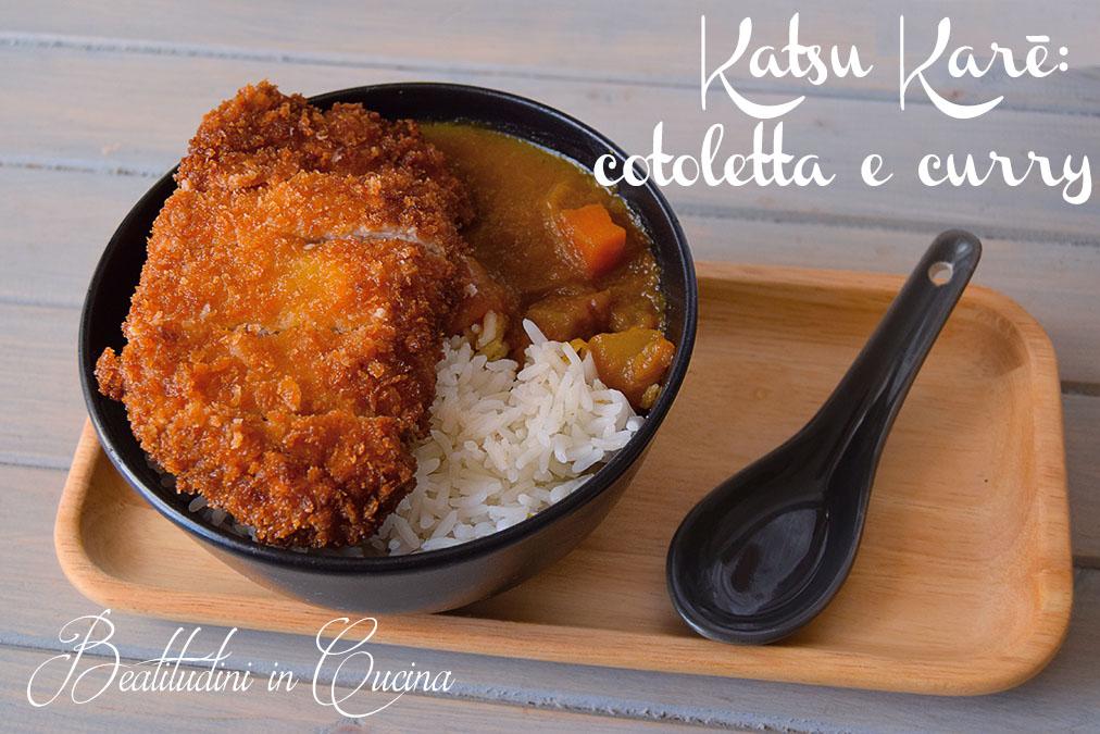 Katsukare curry e tonkatsu