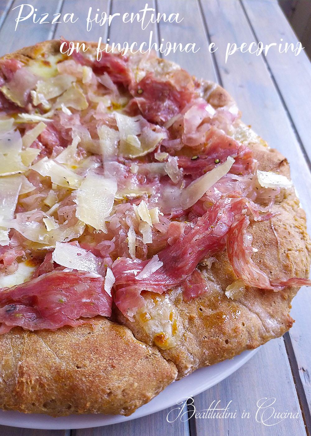 Pizza fiorentina con finocchiona e pecorino1