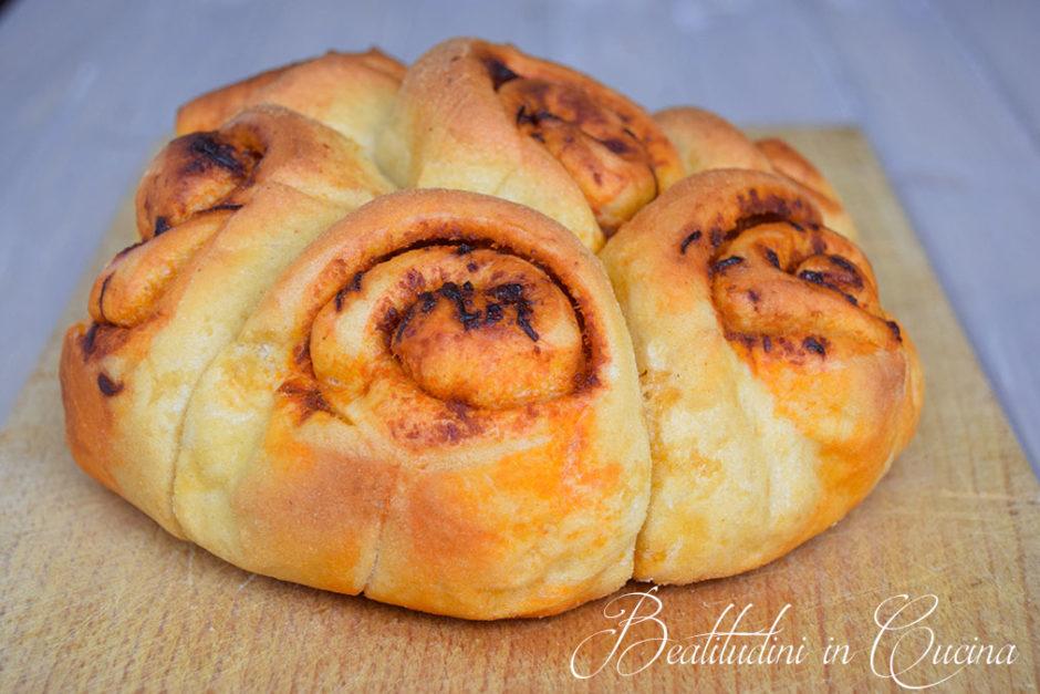 Pane con caviale calabrese